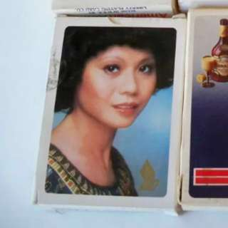 Singapore Airlines Playing cards / SIA