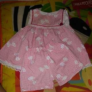 SM baby fashion terno