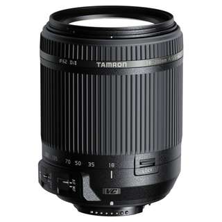 NEW Tamron 18-200mm f3.5-6.3 Di II VC Lens (Nikon or Canon Mount)