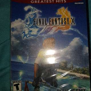 ps2 game final fantasy x