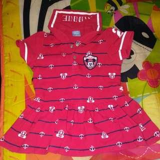 Minnie and hello kitty dress