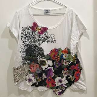 White tops atasan sz L