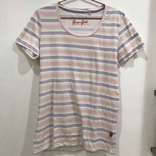 Stripes uniqlo tshirt kaos sz XL