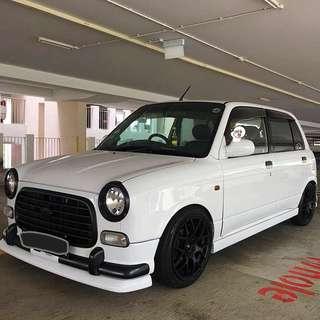Perodua Kelisa aka Gino Mira 1.0m