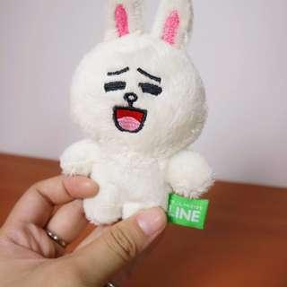 line 兔子 房間佈置 玩偶玩具收藏 禮物 12cm
