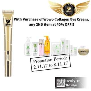 WOWO Eye Cream Promotion!