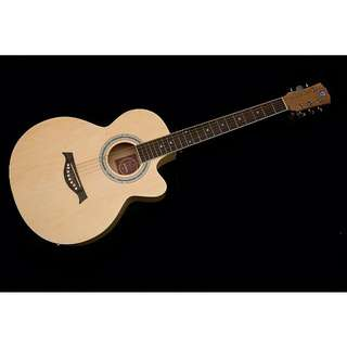Techno D39 Full Natural Guitar With Pickup