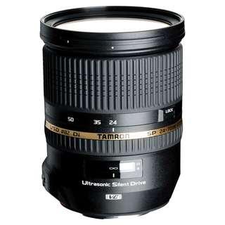 NEW Tamron SP 24-70mm f2.8 Di VC USD Full Frame Lens (Canon or Nikon Mount)