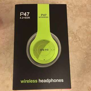 P474.3+EDR wireless headphone 耳機notebook wmearphone