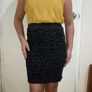 Clearance Sale! Leopard skirt