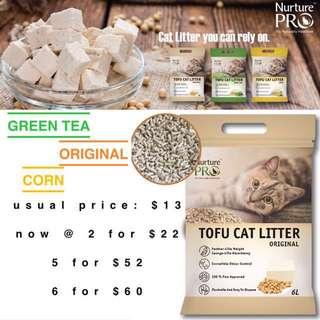 SALE! Nurture Pro Tofu Clump