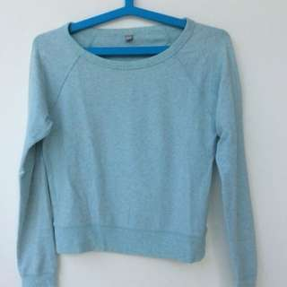 Uniqlo green mint sweater / sweatshirt
