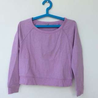 Uniqlo purple sweater / sweatshirt