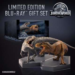 Jurassic World 3D Limited Edition Blu-ray