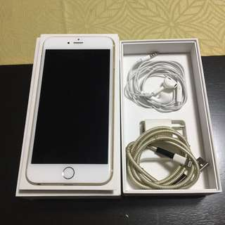 Iphone 6 plus 16gb smartlocked with COMPLETE original accessories