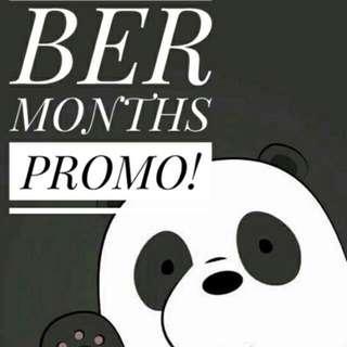 BER MONTHS PROMO! 🎉