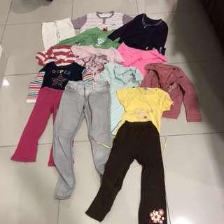 Children clothes 14 pcs
