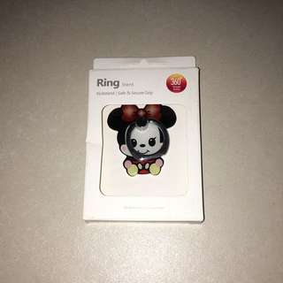 Brand new in box cute Minnie Mouse iring mobile hp ring holder