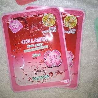 NEW Collagen Mask Sheet