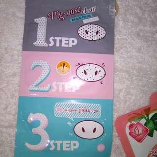 NEW Pig-nose Clear Blackhead 3-Step Kit