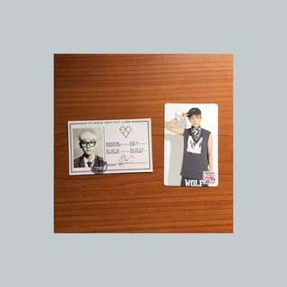 EXO Baekhyun Photocards