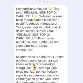 Terima kasih Carousell (2)