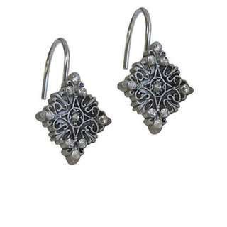 Famous Home: Grey Silver Diamond Jewel Shower Curtain Hooks
