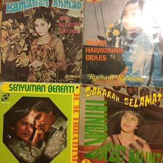 "Malay/ Indonesian Vintage Records ep 7"" vinyl"
