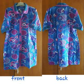 Dress Batik size XL