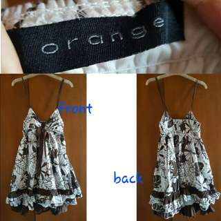 Mini dress Orange size S fit M