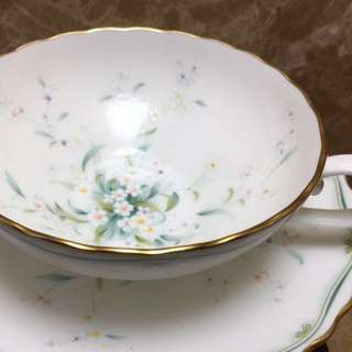 [P] NORITAKE(則武)品牌紅茶杯碟兩套