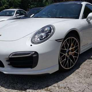 Porsche Carrera 911 991 Turbo S 2014
