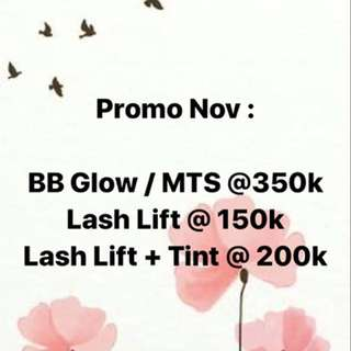 Promo BB glow MTS