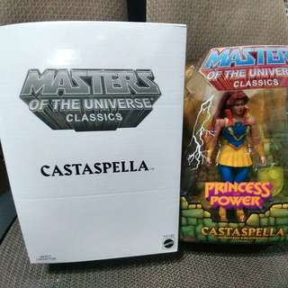 MASTERS OF UNIVERSE CLASSICS : CASTASPELLA (not Marvel Legends, DC)