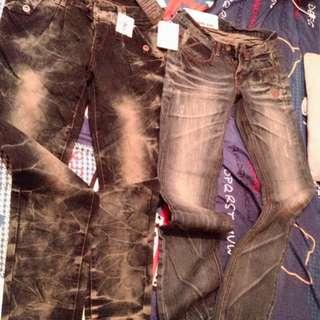 全新牛仔褲 Holister短褲