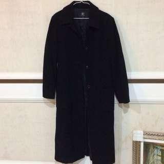 羊毛長版大衣 #雙十一女裝出清
