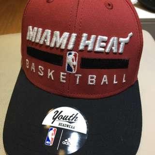 2017NBA美國職籃邁阿密熱火隊千年版Youth 可調式帽子Adidas #雙十一大出清
