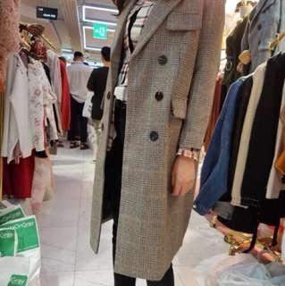 韓國連線💋 格子西裝外套