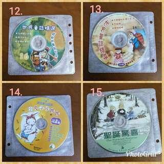 兒童故事 兒童CD 聽故事 教學CD