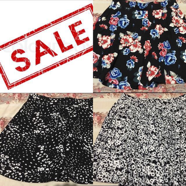 3For1000 Cotton On Skirts Free Shipping!
