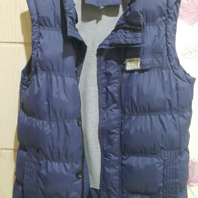流行時尚鋪棉背心外套