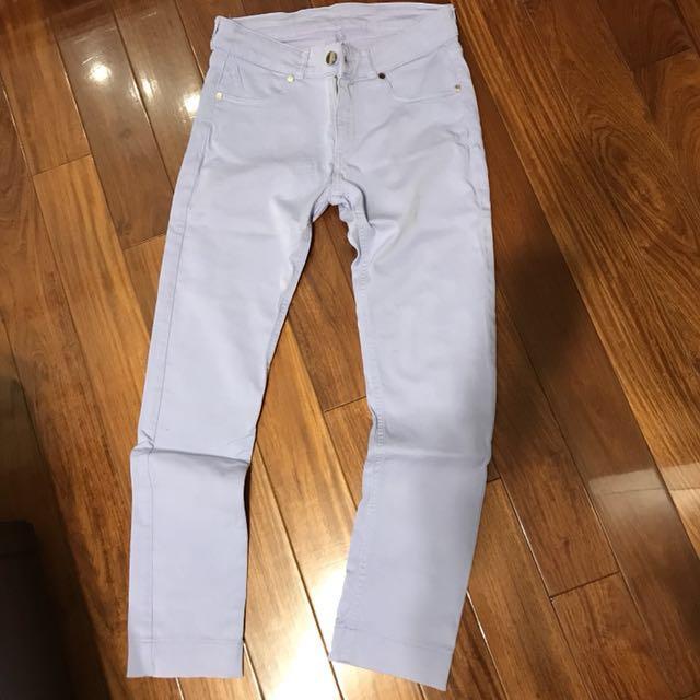 低價出清!歐洲品牌紫色長褲