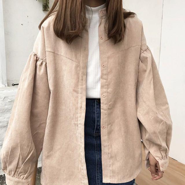 燈籠袖外套