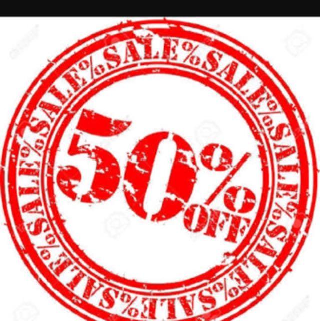 ! 50% SALE (clothes & shoes,cap)