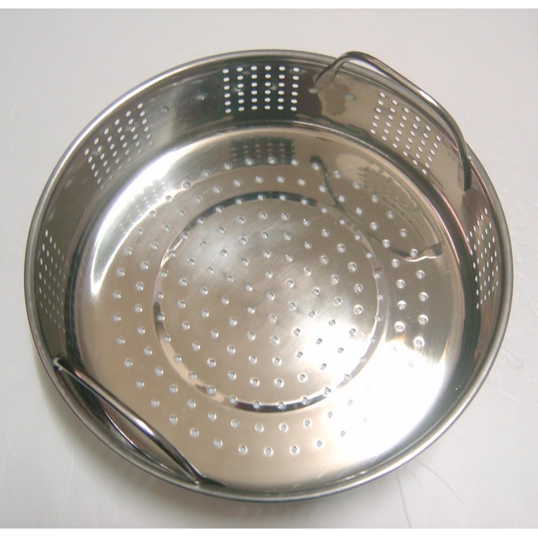 不鏽鋼蒸盤 雙耳白鐵蒸盤~