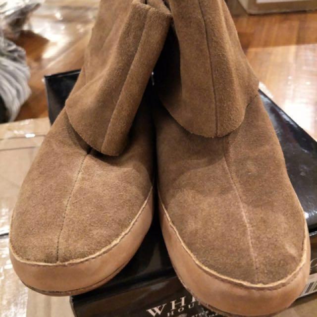 專櫃 雞皮短靴 原價2690元