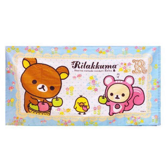 拉拉熊 懶懶熊 浴巾 - 變裝松鼠 #好物任你換 #交換最划算