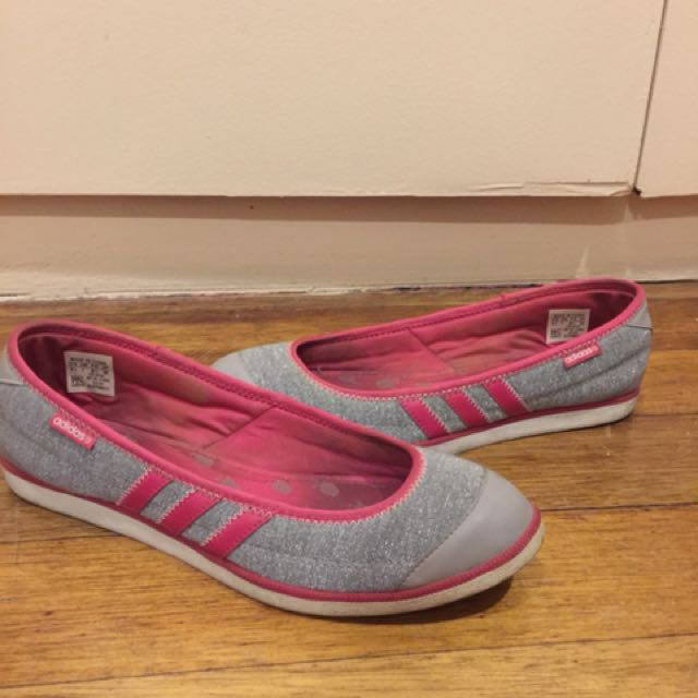 Adidas Fitfoam pink and silver