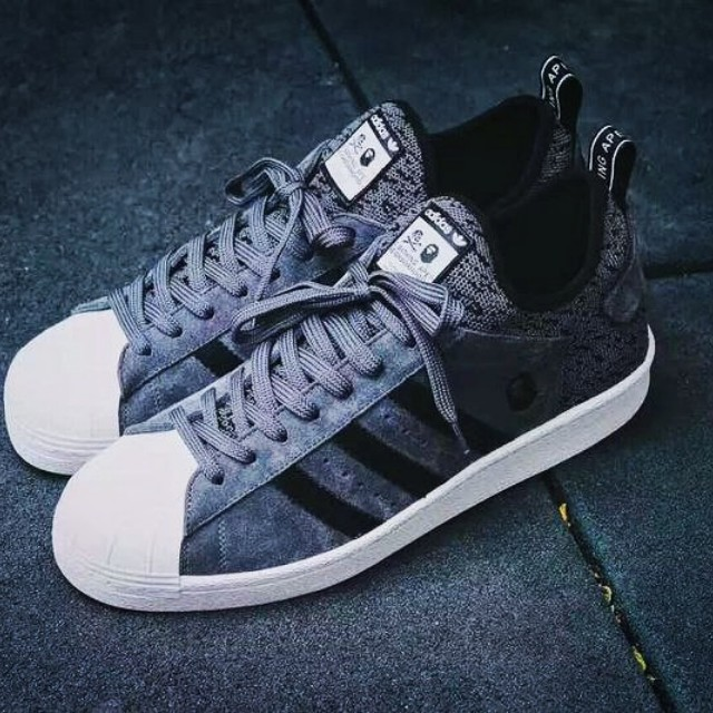 c5bd6a86fc6e Adidas Superstar X A Bathing Ape X Neighborhood