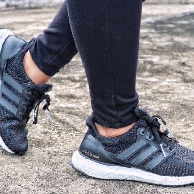 Adidas Ultra Boost Core Black 2.0 (RUSH)